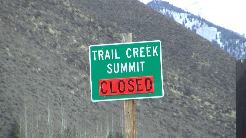 Trail CK Summit Closed