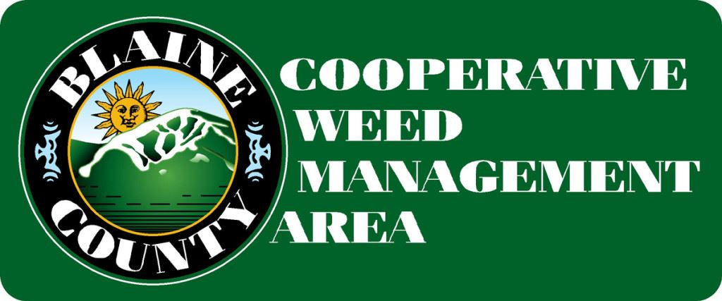 Blaine County Noxious Weed green logo